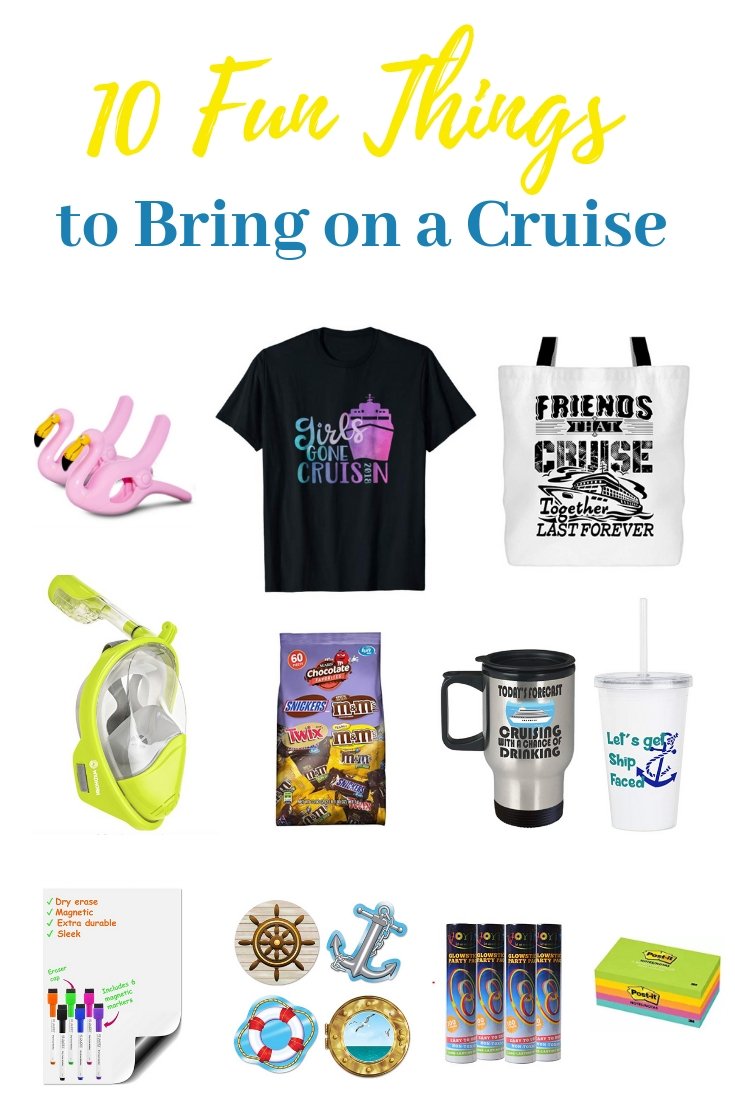 10 Fun Things to Bring on a Cruise