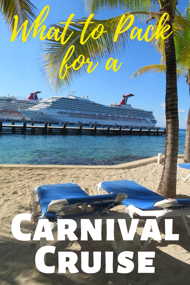 Carnival Cruise What to Pack