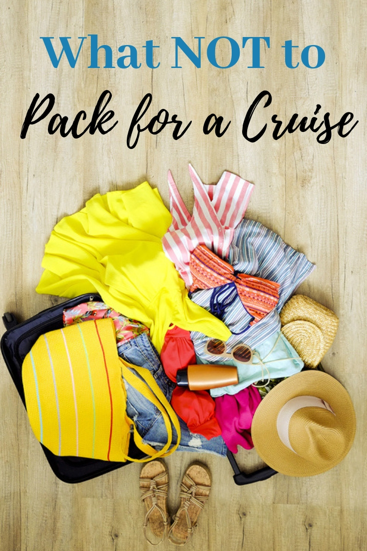 What not to bring on a cruise