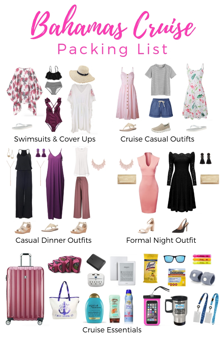 Bahamas Cruise Packing List - What to Wear on a Bahamas Cruise