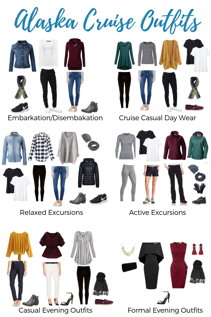 Cute Alaska Cruise Outfits - What to Wear on an Alaskan Cruise
