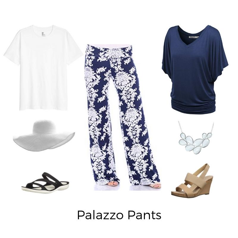 Palazzo Pants - plus cruise wear