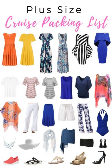 Plus Size Cruise Packing List - Plus Size Cruise Wear Ideas Up to Size 4XL
