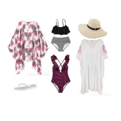 Swimsuit and coverups - Bahamas Cruise Outfits