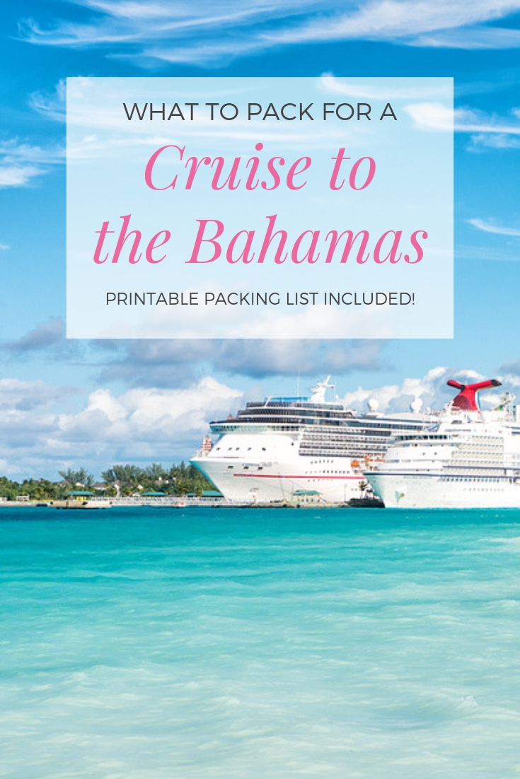 What to Pack for a Bahamas Cruise