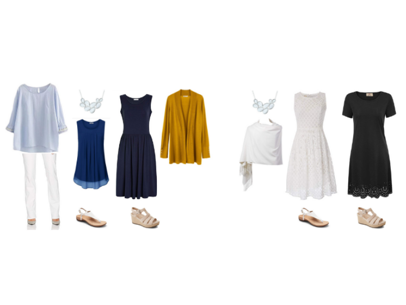 Mediterranean Cruise Outfits for Casual and Formal Evenings