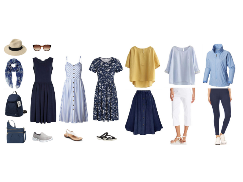 Mediterranean Cruise Outfits for Excursions