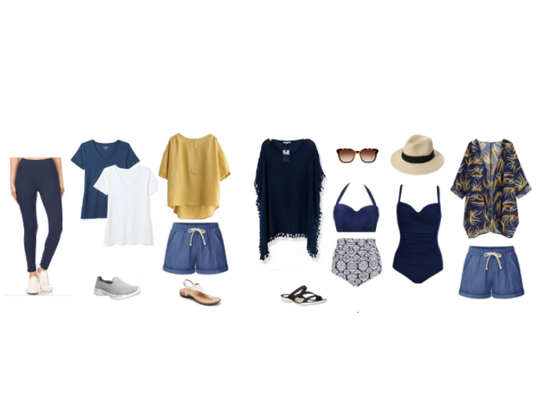 Mediterranean Cruise Outfits for Sea Days and Beach Days