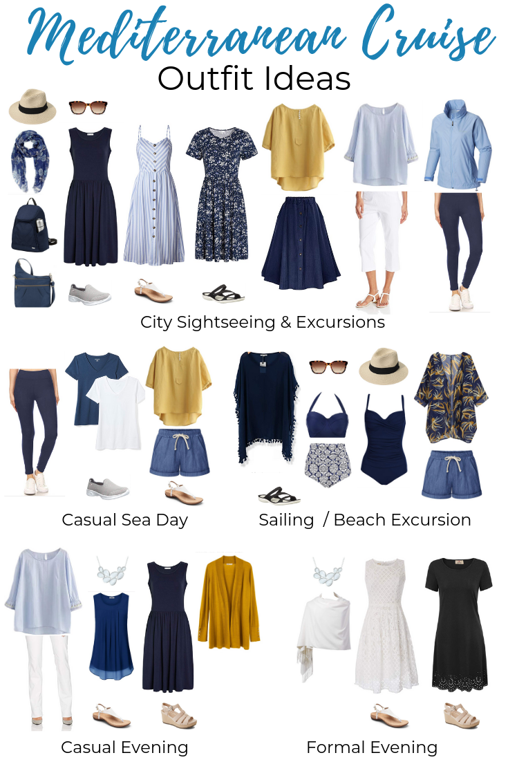 What to Pack for a Mediterranean Cruise - Outfit Ideas